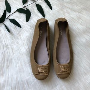 🌿 AUTHENTIC Burberry Round toe Flats size 8🌿